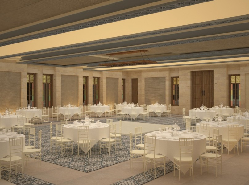 Farah Architects - Top Architects in Amman, Jordan | Alamal sociaty ballroom image 3
