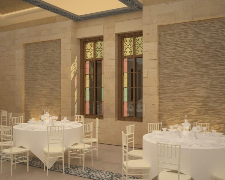 Farah Architects - Top Architects in Amman, Jordan | Alamal sociaty ballroom image 6