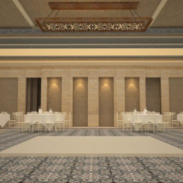 Farah Architects - Top Architects in Amman, Jordan | Alamal sociaty ballroom image 5