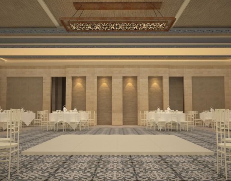 Farah Architects - Top Architects in Amman, Jordan | Alamal sociaty ballroom image 5