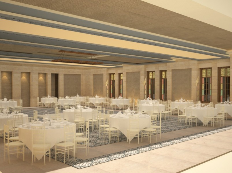 Farah Architects - Top Architects in Amman, Jordan | Alamal sociaty ballroom image 7