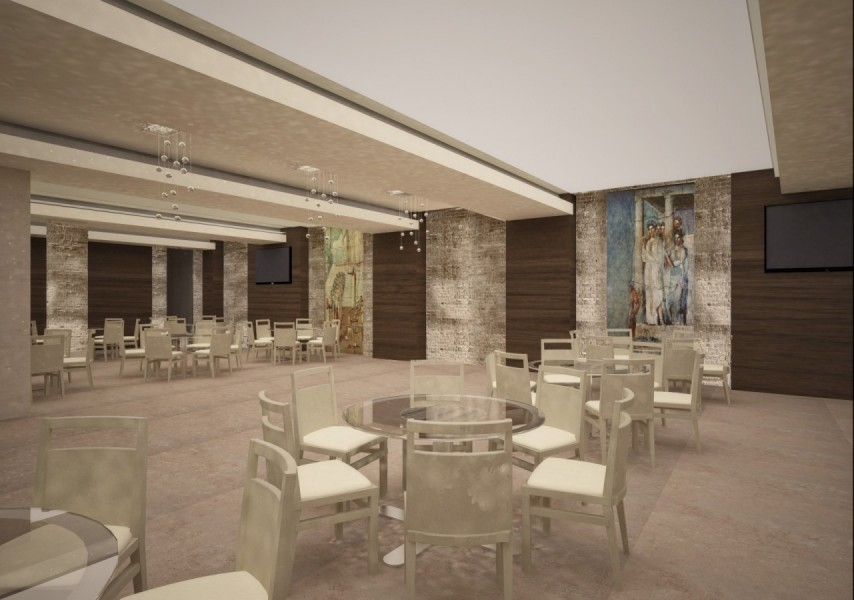 Farah Architects - Top Architects in Amman, Jordan | Naour Ballroom image 3