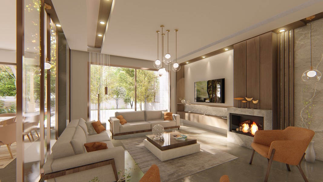 PRIVATE RESIDENCE - INTERIOR DESIGN 2