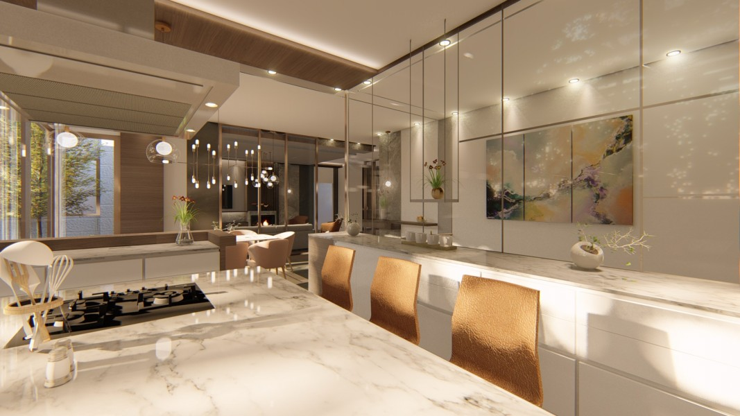 PRIVATE RESIDENCE - INTERIOR DESIGN 5