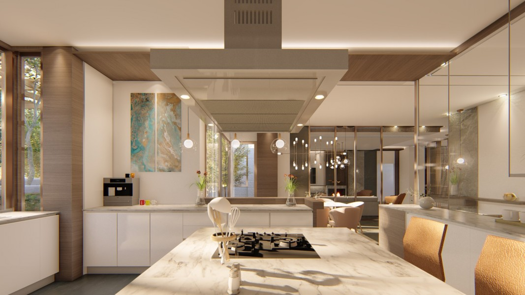 PRIVATE RESIDENCE - INTERIOR DESIGN 6