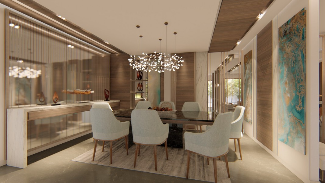 PRIVATE RESIDENCE - INTERIOR DESIGN 7