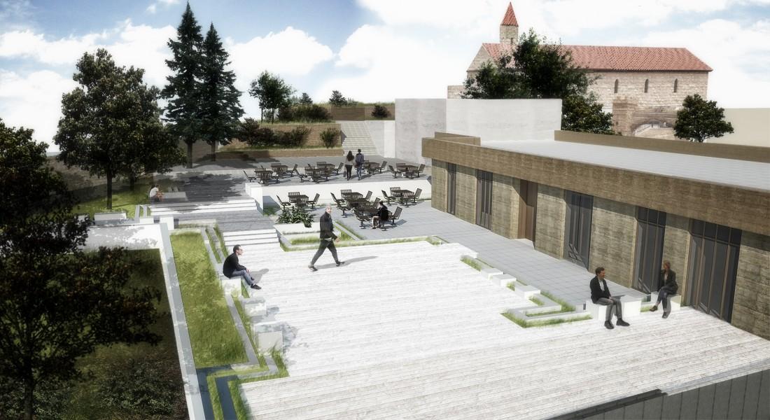 Naour's church site renovation 3
