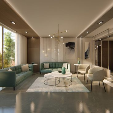 PRIVATE RESIDENCE - INTERIOR DESIGN 1